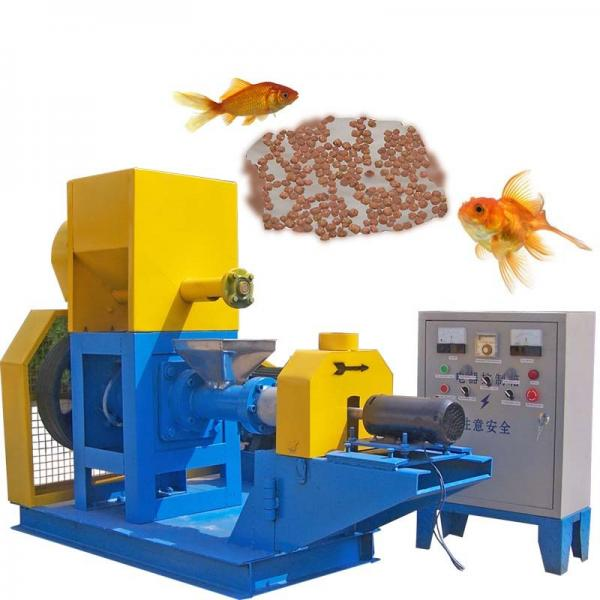 Floating Fish Feed Extruder Processing Machine / Feed Extruding Production Line Price