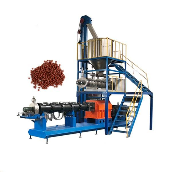 Small Scale Aquatic Food Making Machine Floating Fish Feed Extruder
