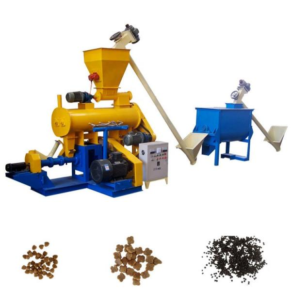 Expanded Floating Granular Fish Food Manufacturing Machinery