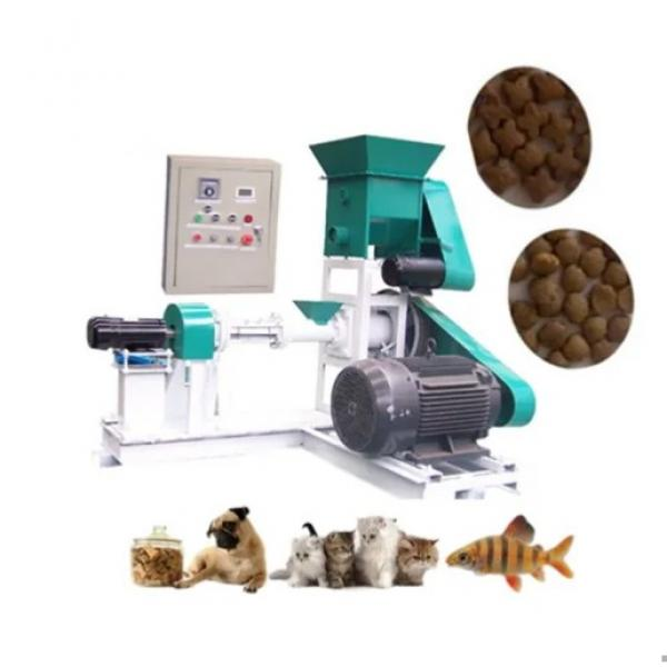 Dry Type Pet/Floating Fish Feed Extruder/Dog Food Production Line
