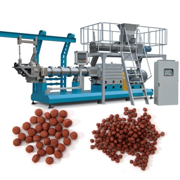 Floating Fish Feed Pellet Making Machine Fish Feed Production Line