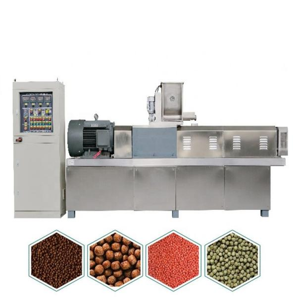 Animal Floating Fish Feed Pellet Production Line Price, Goat Poultry Small Manual Feed Making Mill Machine 2 Ton/Hour
