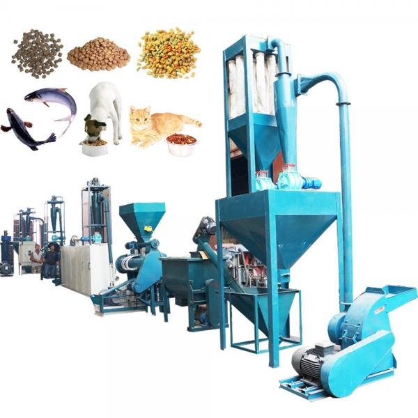 Wet process high protein fish extruder machine floating fish feed