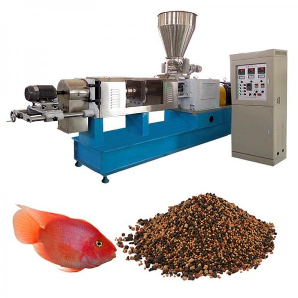Floating Fish Feed Pellet Process Machine