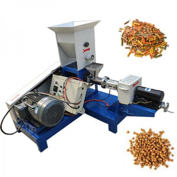 Dry Pet Dog Cat Food Making Machine Chicken Bird Floating Sinking Fish Feed Pellet Production Machinery Plant