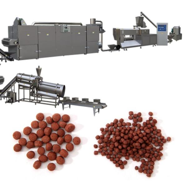 Stainless Steel Floating Aquaculture Feed Pellet Production Equipment Expanded Floating Granular Fish Food Manufacturing Machinery